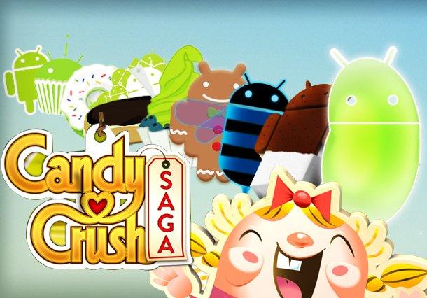 Khoom qab zib Crush dabneeg rau Android