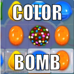Candy Crush boja bombe (pjege)